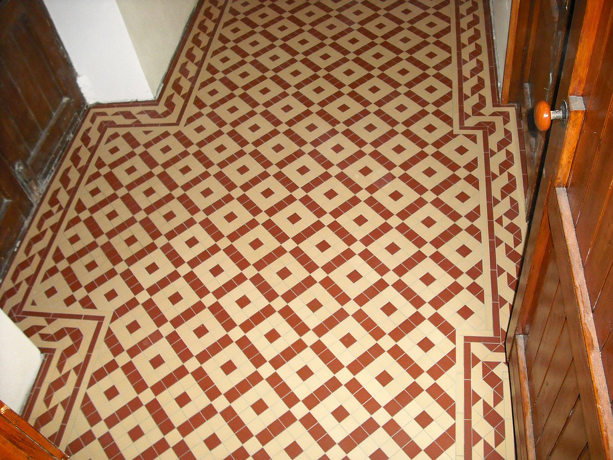 Olde english victorian floor colliford pattern for Old english floor