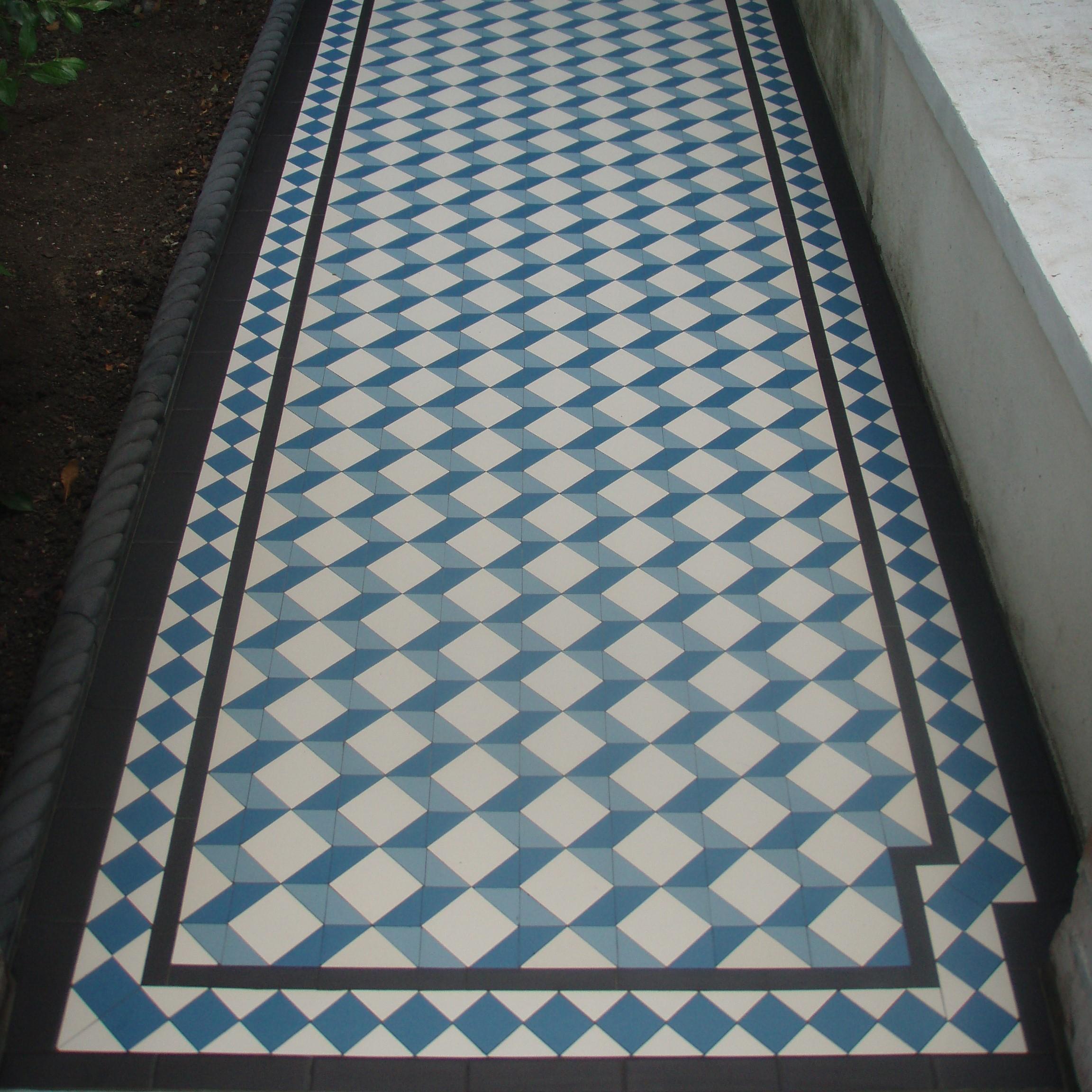 Olde English Victorian Floor, Grafham Pattern | Edinburgh Tile Studio