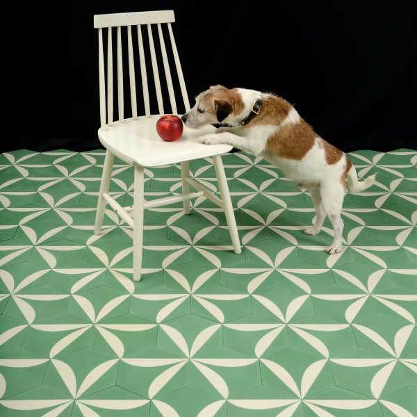 Marrakech Design, Claesson Koivisto Lily Encaustic, Edinburgh Tile Studio