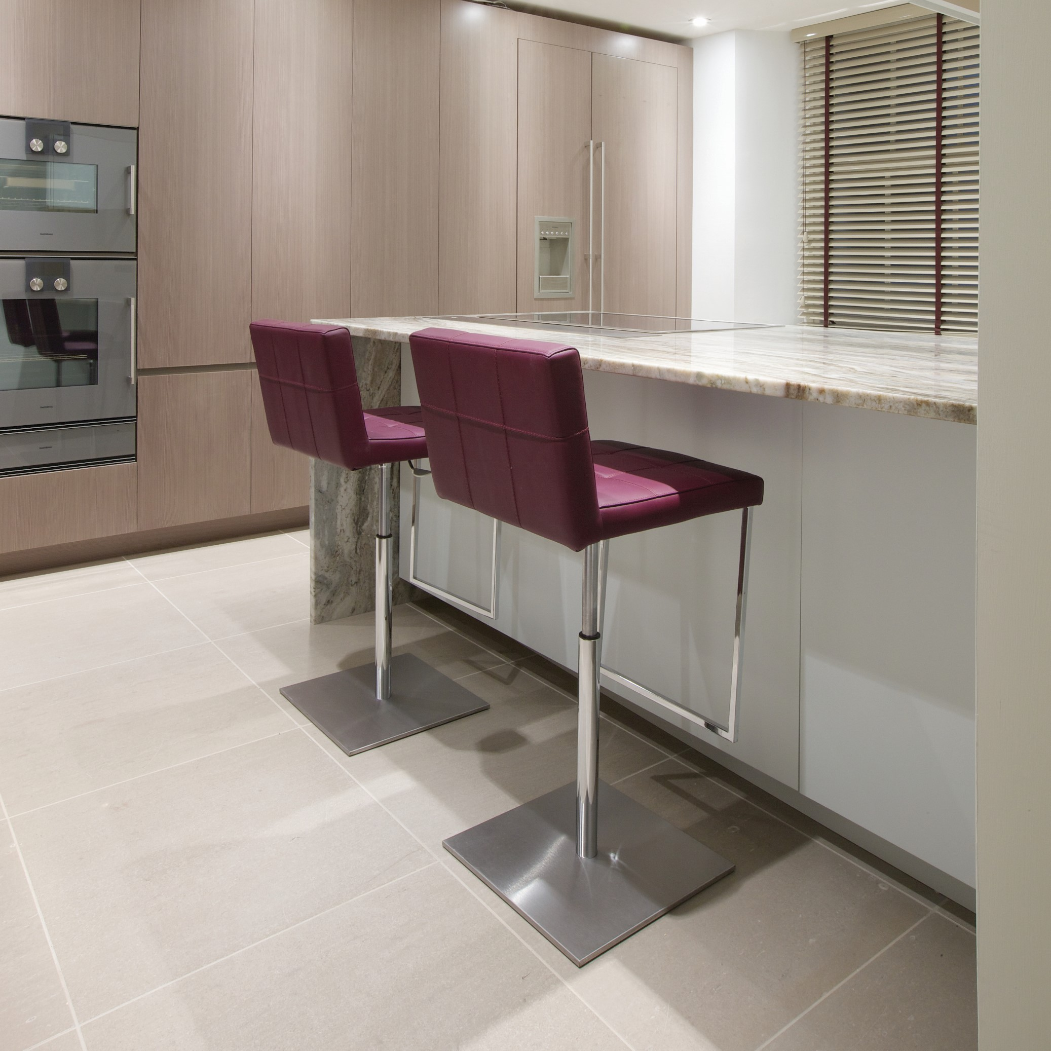 Kitchen Tiles Edinburgh: Ca' Pietra Limestone, Modena (honed)