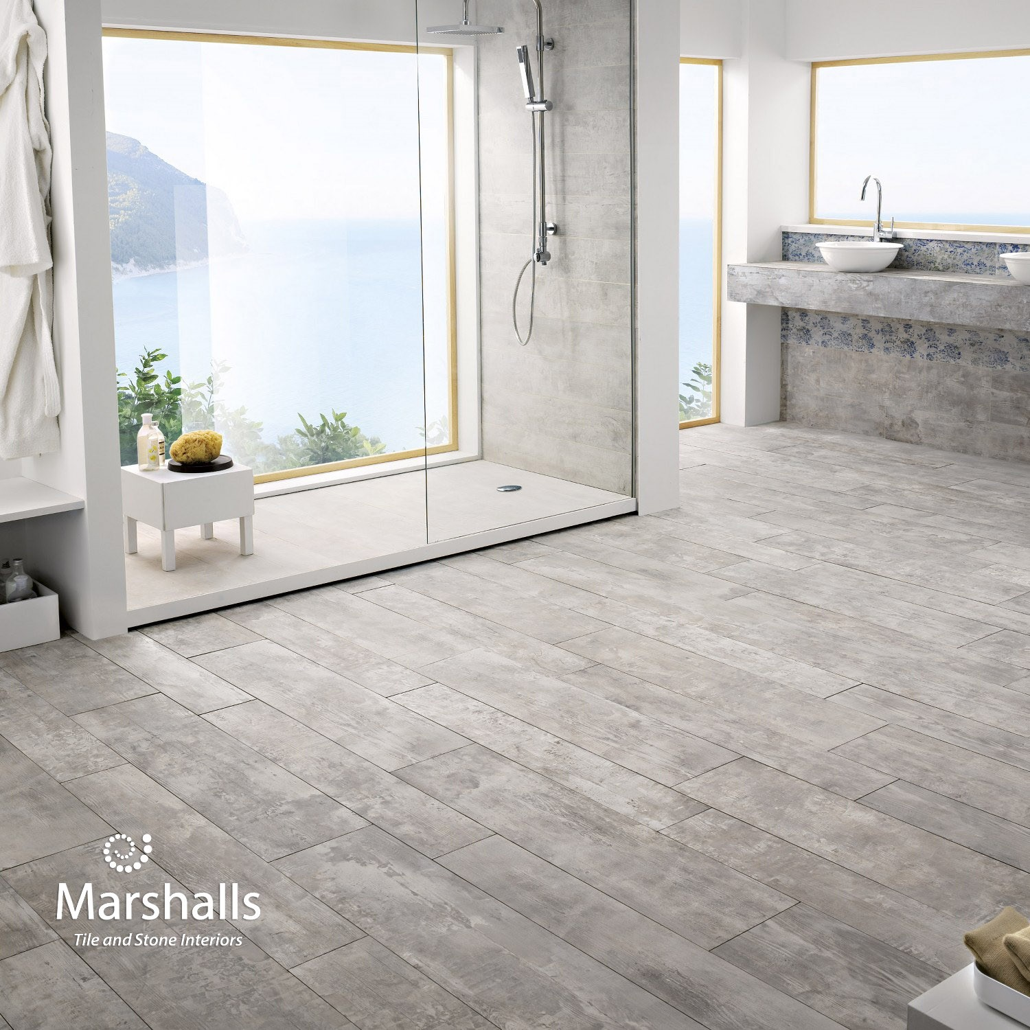 Kitchen Tiles Edinburgh: Marshalls Driftwood, Nassau