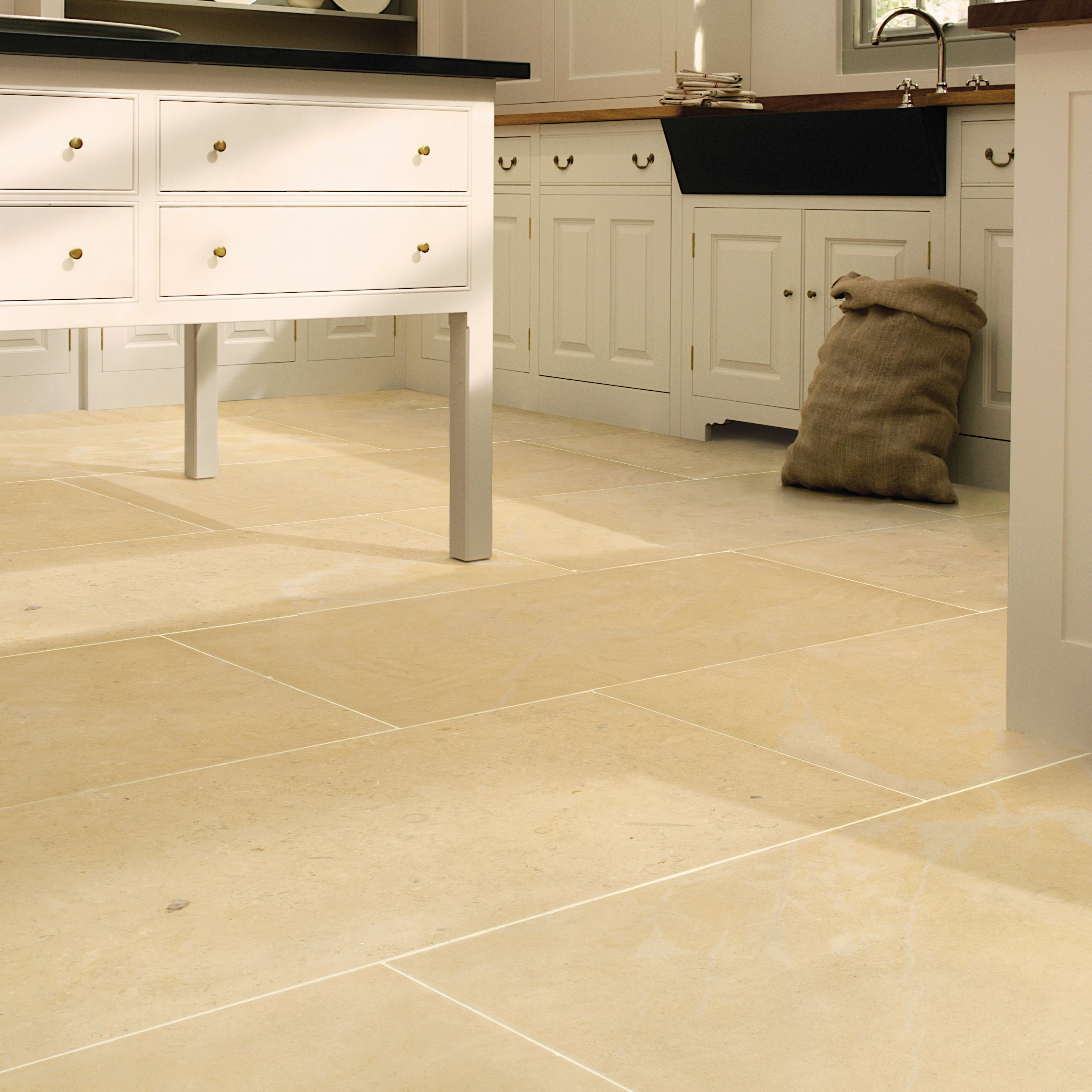 Kitchen Tiles Edinburgh ca' pietra limestone, neranjo (honed) | edinburgh tile studio