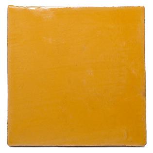 New Terracotta Vintage Basic Colours Yellow Yolk B001, Edinburgh Tile Studio