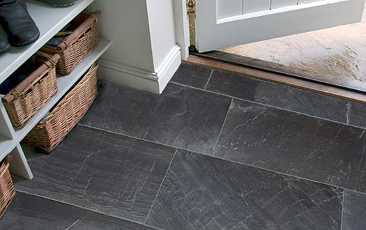 Marlborough Black Rock Slate Edinburgh Tile Studio