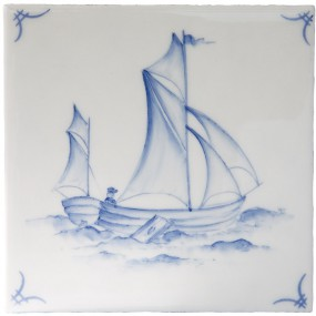Marlborough Delft Classic Ships & 'scapes