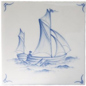 Marlborough Delft Classic Ships & 'scapes