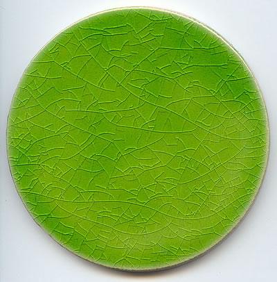 Jaafar Designs Milano Dots Acid Green, Edinburgh Tile Studio