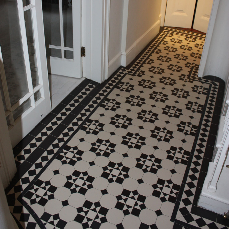 Olde English Victorian Floor Katrine Pattern Edinburgh Tile Studio