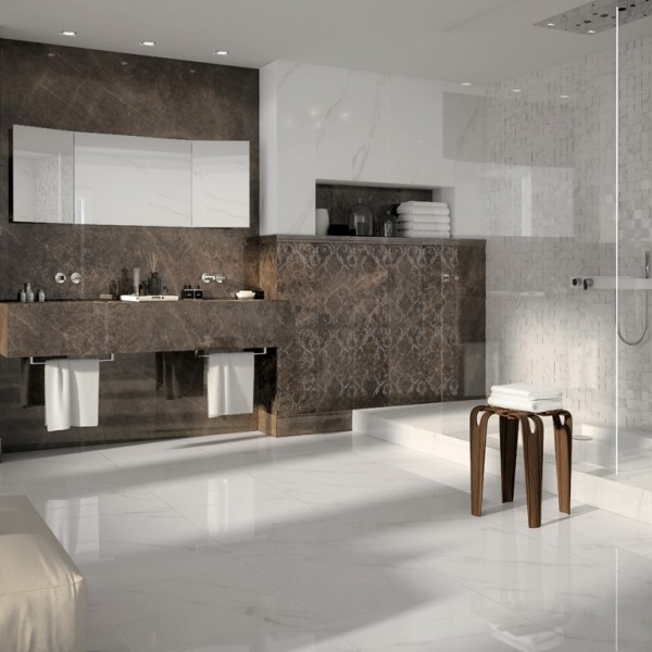 Italian Jewels Collection, Bianco Statuario, Edinburgh Tile Studio