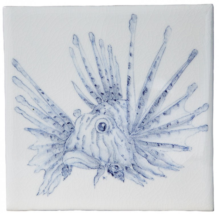 Marlborough Reef Encounters Tile 10, Edinburgh Tile Studio