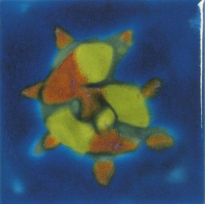 Jaafar Designs Small Spikey Shell Tile, Edinburgh Tile Studio