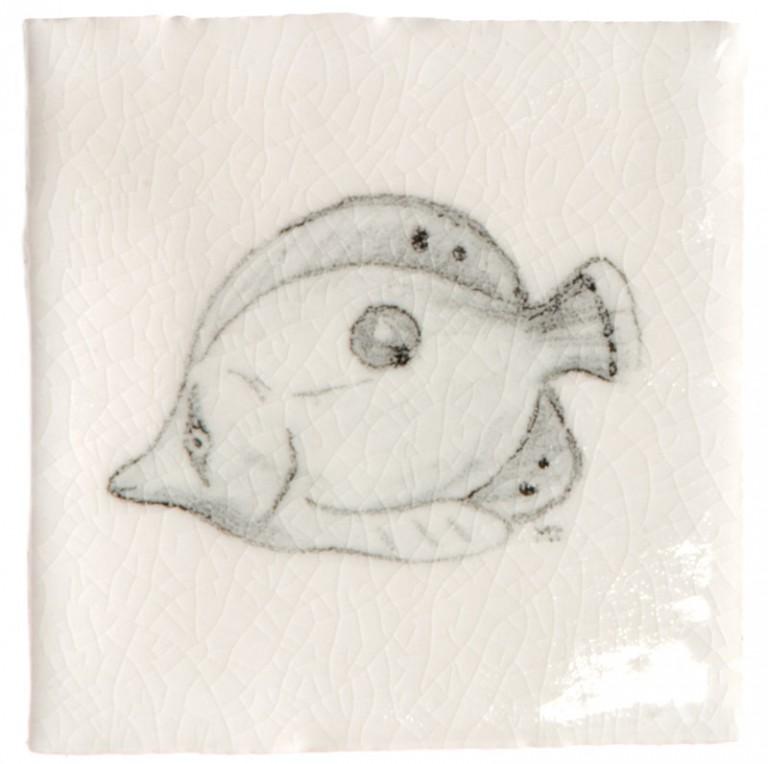 Marlborough Tropical Fish Taco Tile 4, Edinburgh Tile Studio